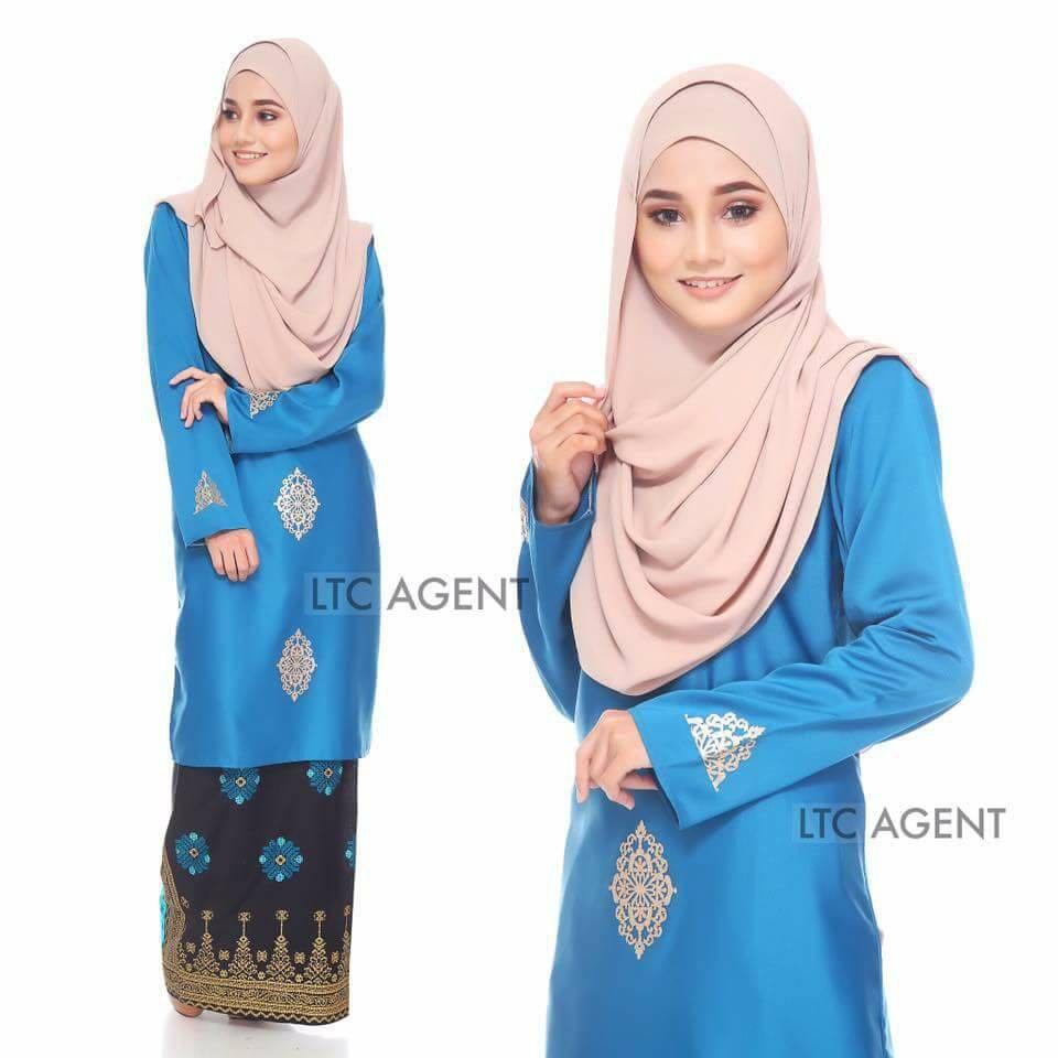 baju-kurung-moden-songket-dokoh-royal-blue-c