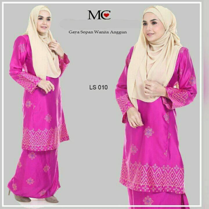 baju-kurung-pahang-satin-lareessa-pink