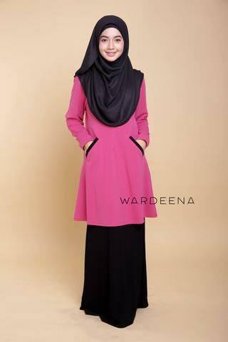 blouse-muslimah-lycra-crepe-luna-a-pink