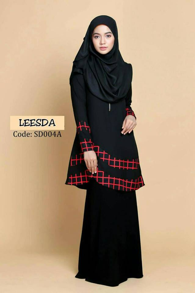 blouse-muslimah-moss-crepe-leesda-sd004a