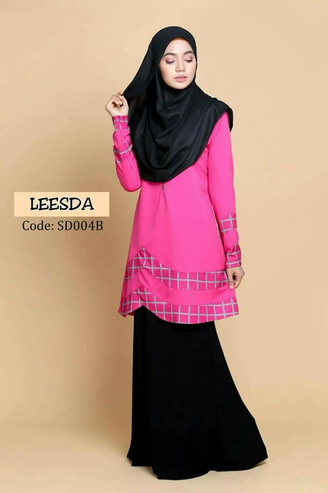 blouse-muslimah-moss-crepe-leesda-sd004b