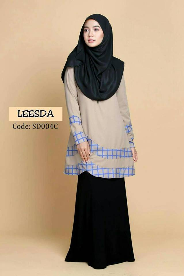 blouse-muslimah-moss-crepe-leesda-sd004c