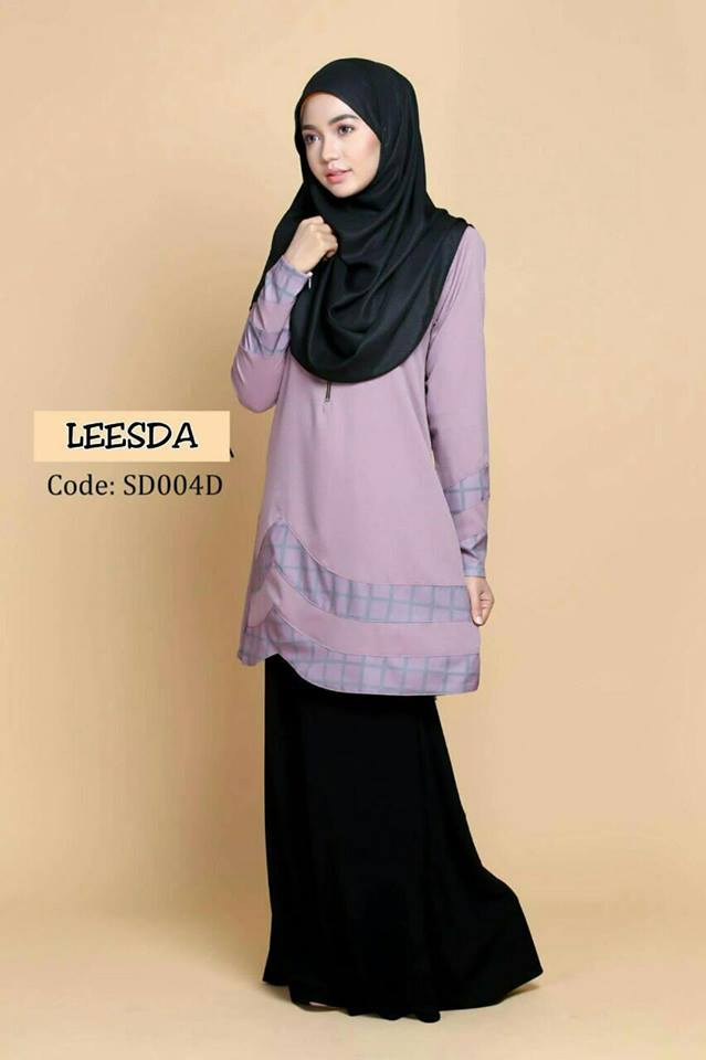 blouse-muslimah-moss-crepe-leesda-sd004d