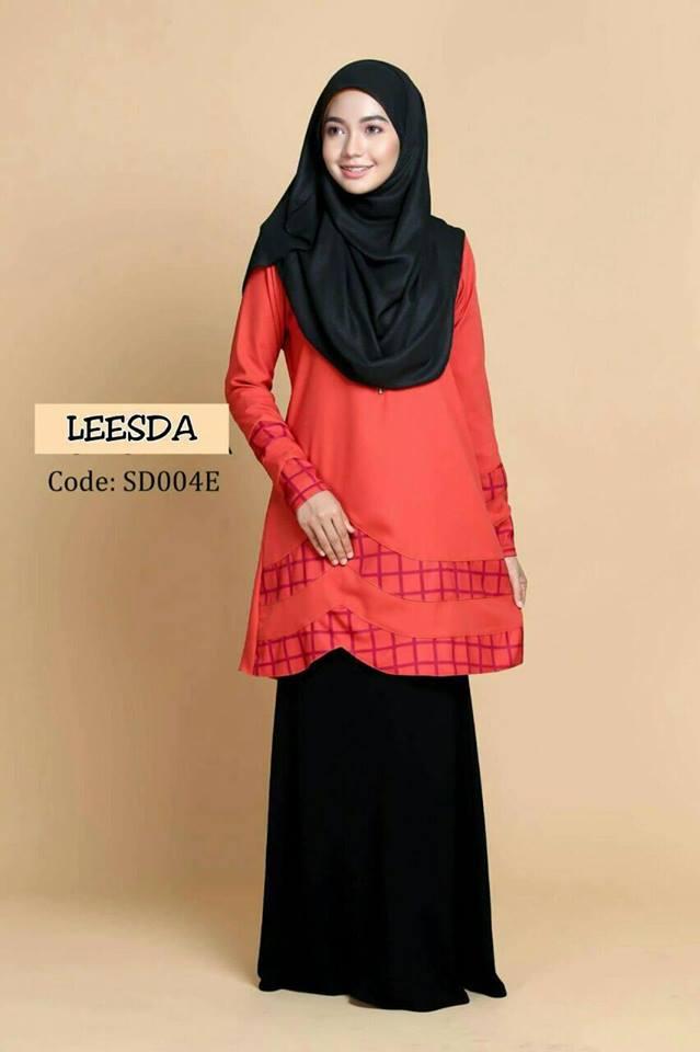 blouse-muslimah-moss-crepe-leesda-sd004e