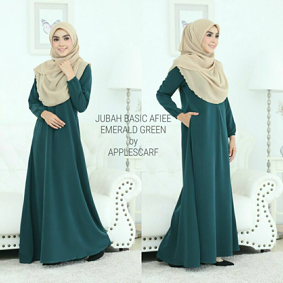 jubah-afiee-emerald-green