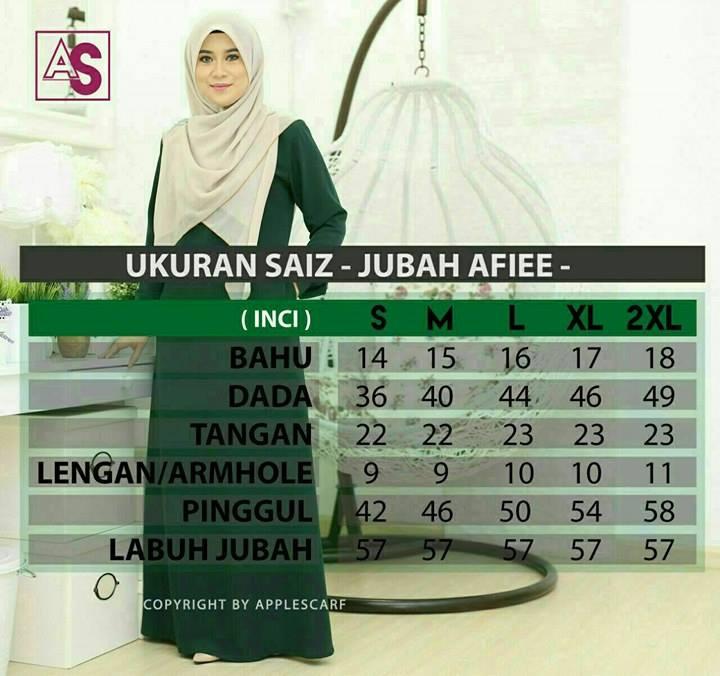 jubah-afiee-ukuran