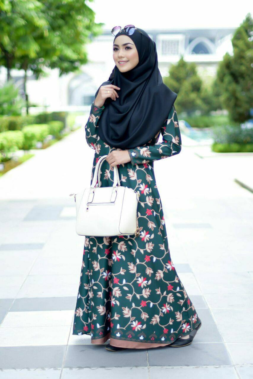 jubah-calliana-green