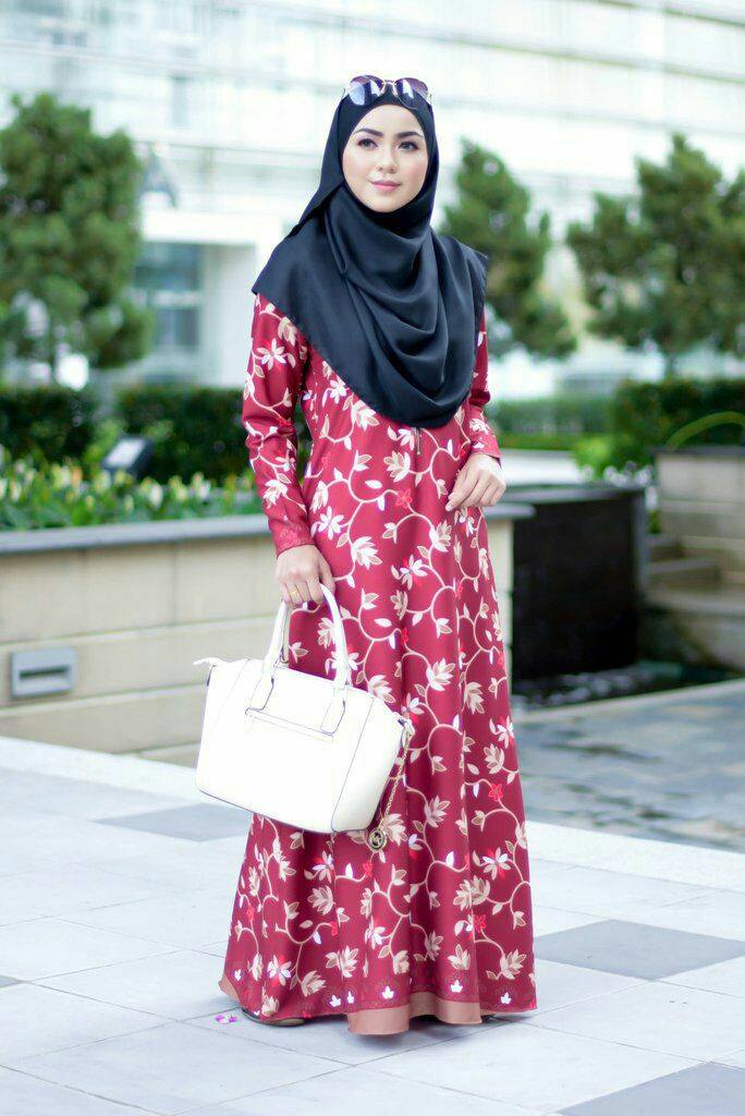jubah-calliana-red