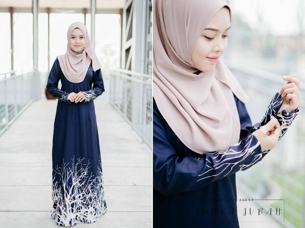 jubah-casandra-moss-crepe-dark-blue