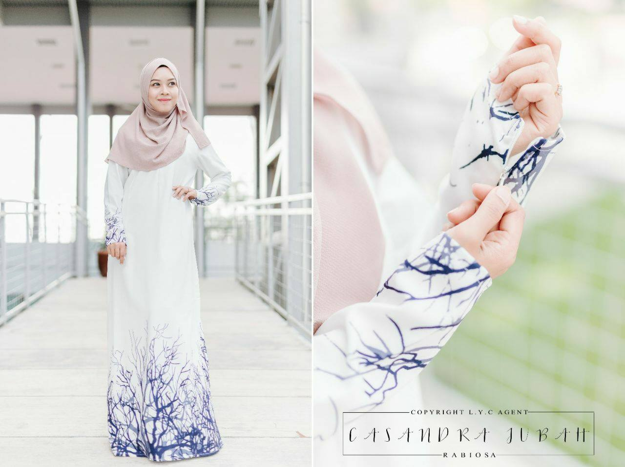 jubah-casandra-moss-crepe-off-white