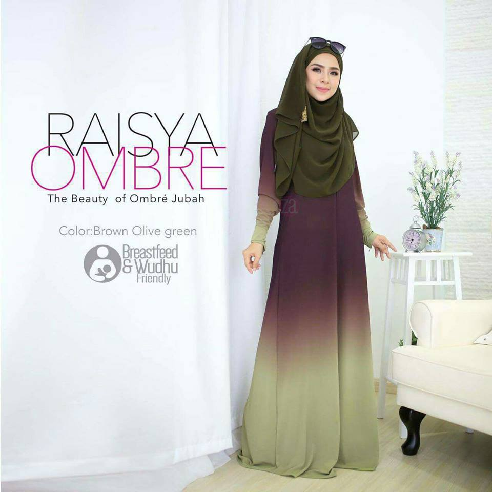 jubah-raisya-ombre-brown-green-a