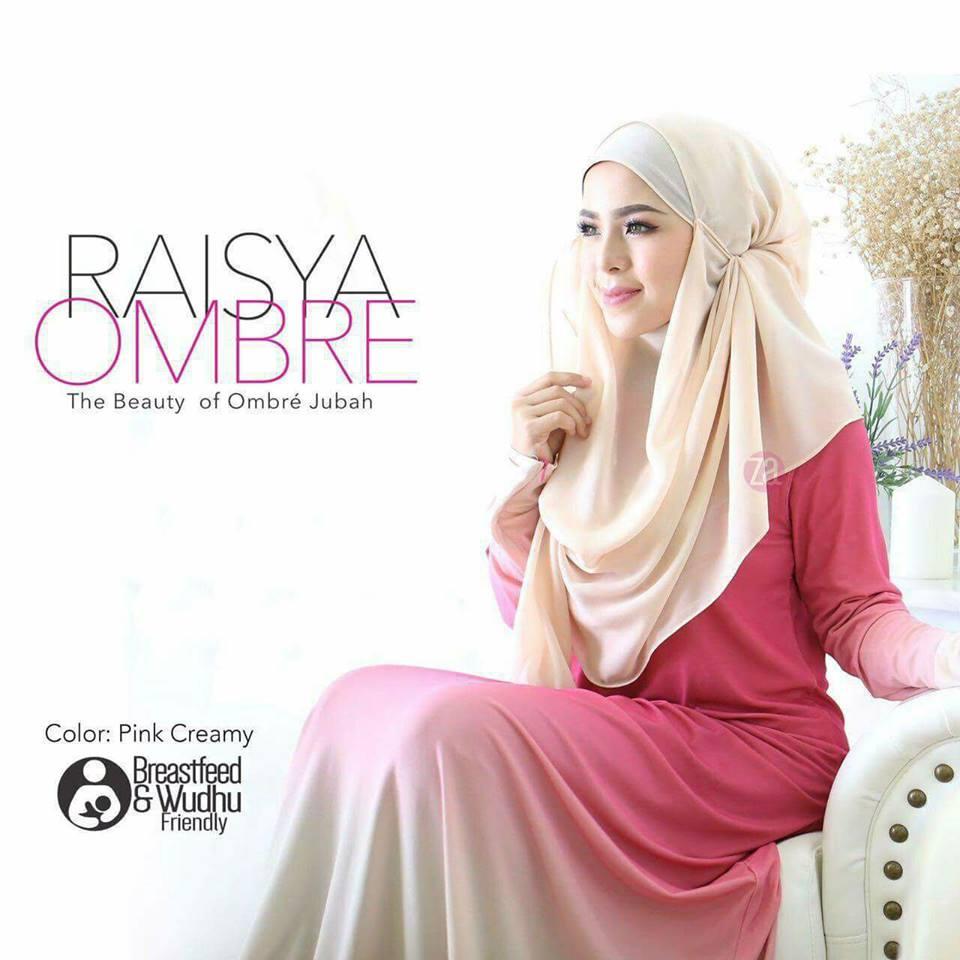 jubah-raisya-ombre-pink-creme-a