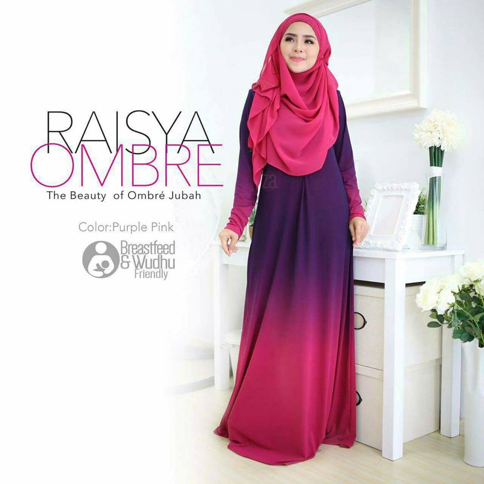 jubah-raisya-ombre-purple-pink-a