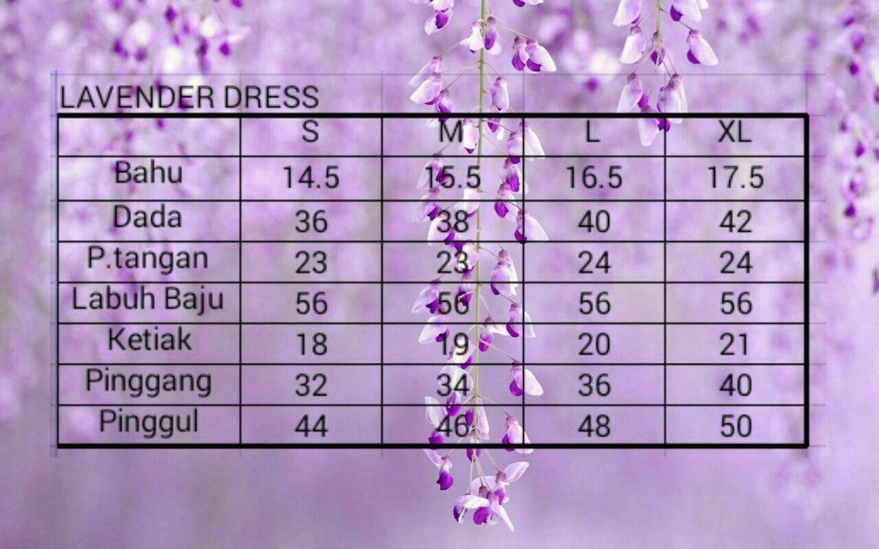 lavender-dress-ukuran