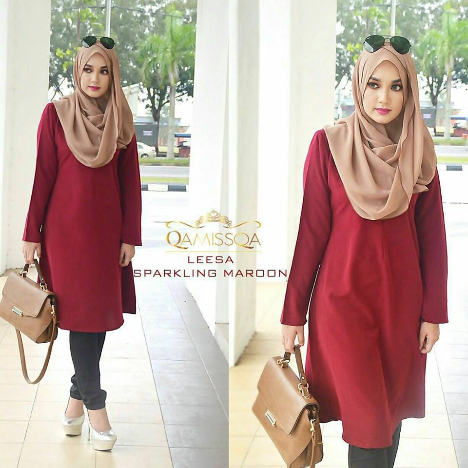 leesa-long-top-sparkling-maroon