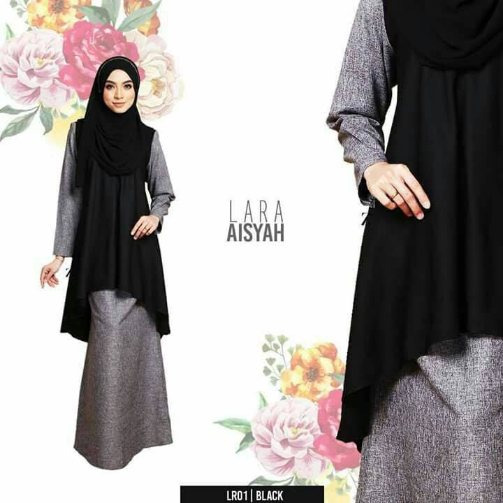 baju-kurung-lara-aisyah-black