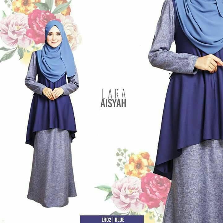 baju-kurung-lara-aisyah-blue