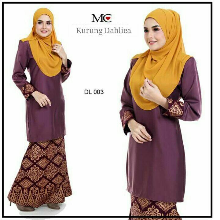 baju-kurung-moden-dahlea-brown