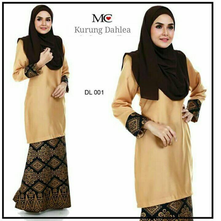 baju-kurung-moden-dahlea-gold