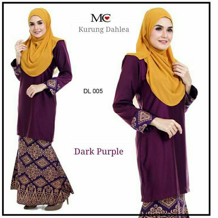 baju-kurung-moden-dahlea-purple