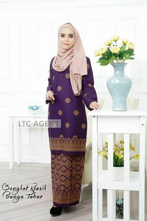 baju-kurung-moden-songket-bunga-tabur-purple