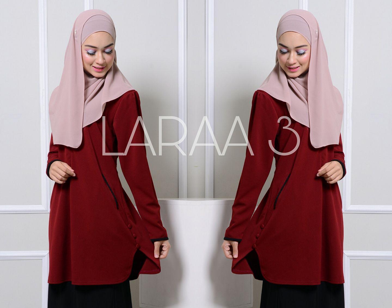 blouse-muslimah-crepe-laraa-close-up-4