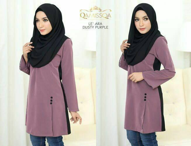 blouse-muslimah-le-ara-dusty-purple-a