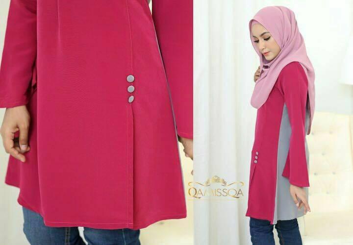blouse-muslimah-le-ara-fuschia-b