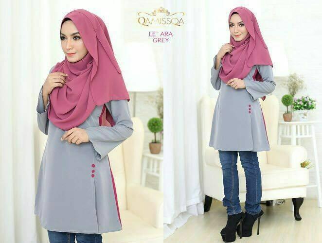 blouse-muslimah-le-ara-grey-a