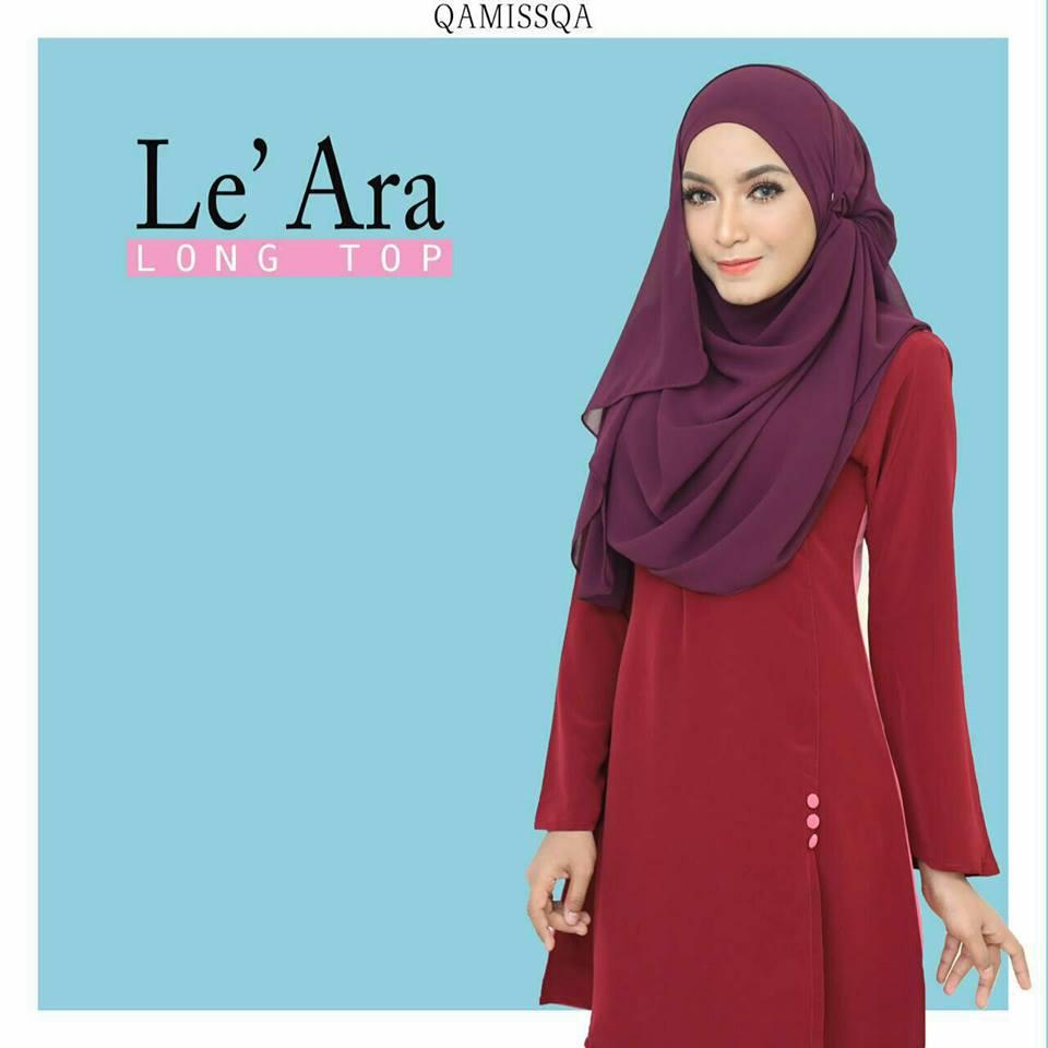 blouse-muslimah-le-ara-sparkling-maroon-b