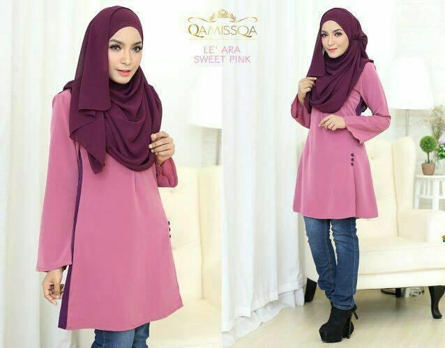 blouse-muslimah-le-ara-sweet-pink-a