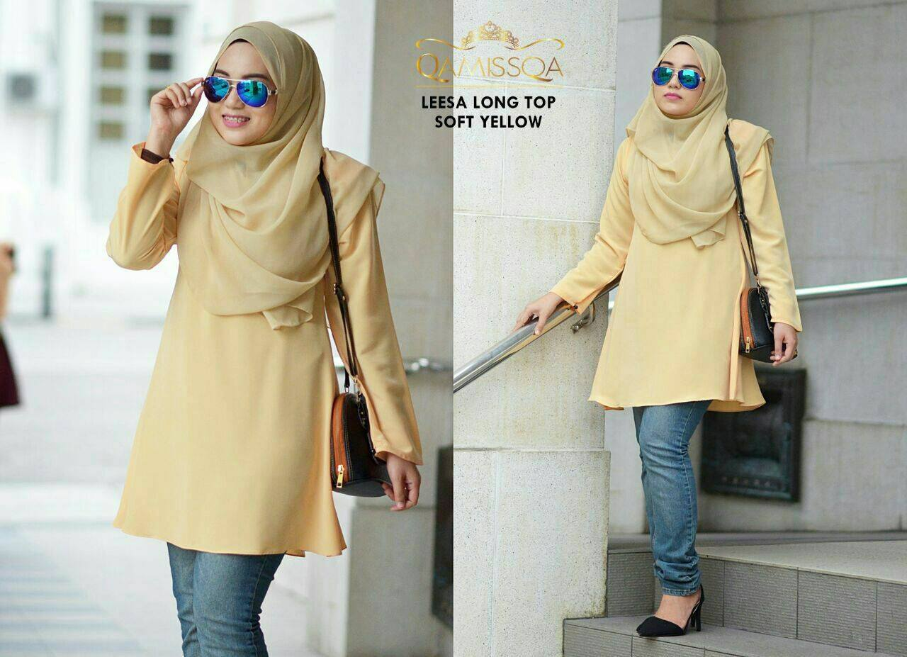 blouse-muslimah-leesa-soft-yellow