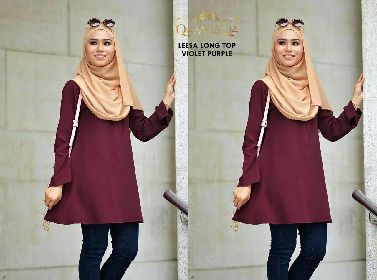 blouse-muslimah-leesa-violet-purple