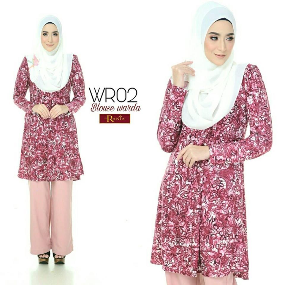 blouse-muslimah-lycra-warda-wr02