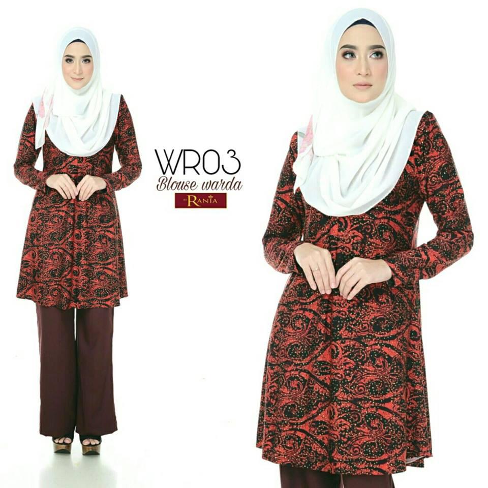 blouse-muslimah-lycra-warda-wr03
