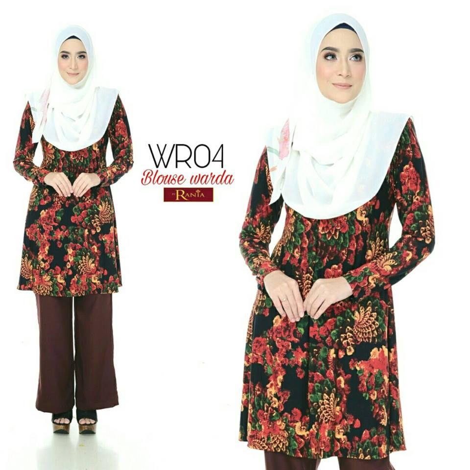 blouse-muslimah-lycra-warda-wr04