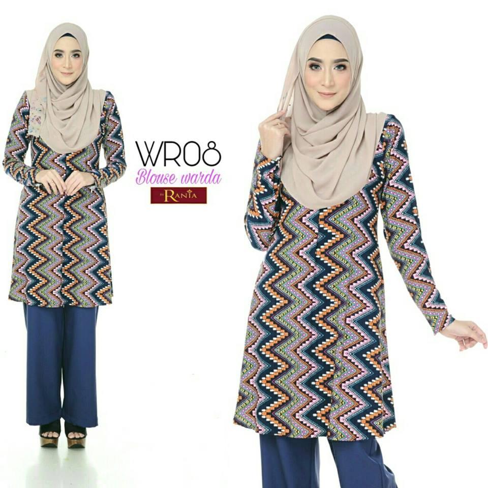 blouse-muslimah-lycra-warda-wr08