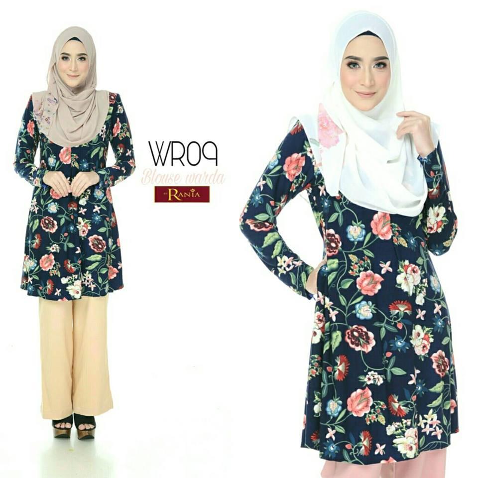 blouse-muslimah-lycra-warda-wr09