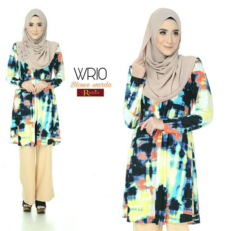 blouse-muslimah-lycra-warda-wr10