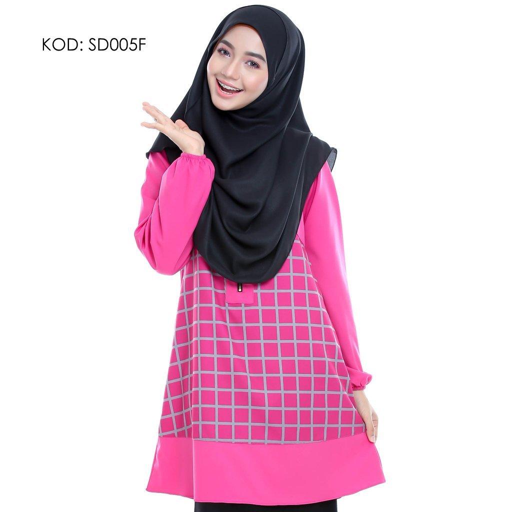 blouse-muslmah-husna-crepe-sd005f