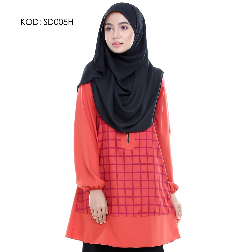 blouse-muslmah-husna-crepe-sd005h