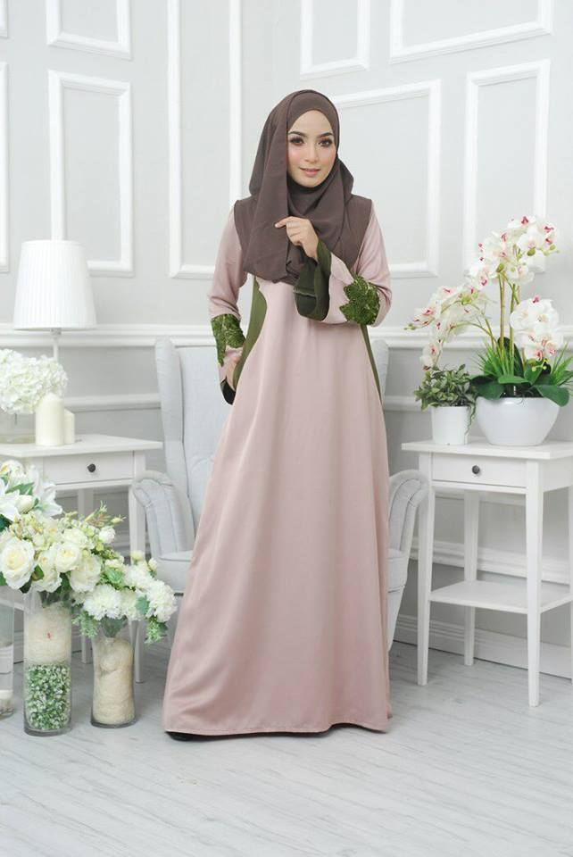 dress-neesa-satin-khaki-b