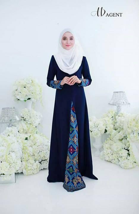 jubah-alayya-blue-black