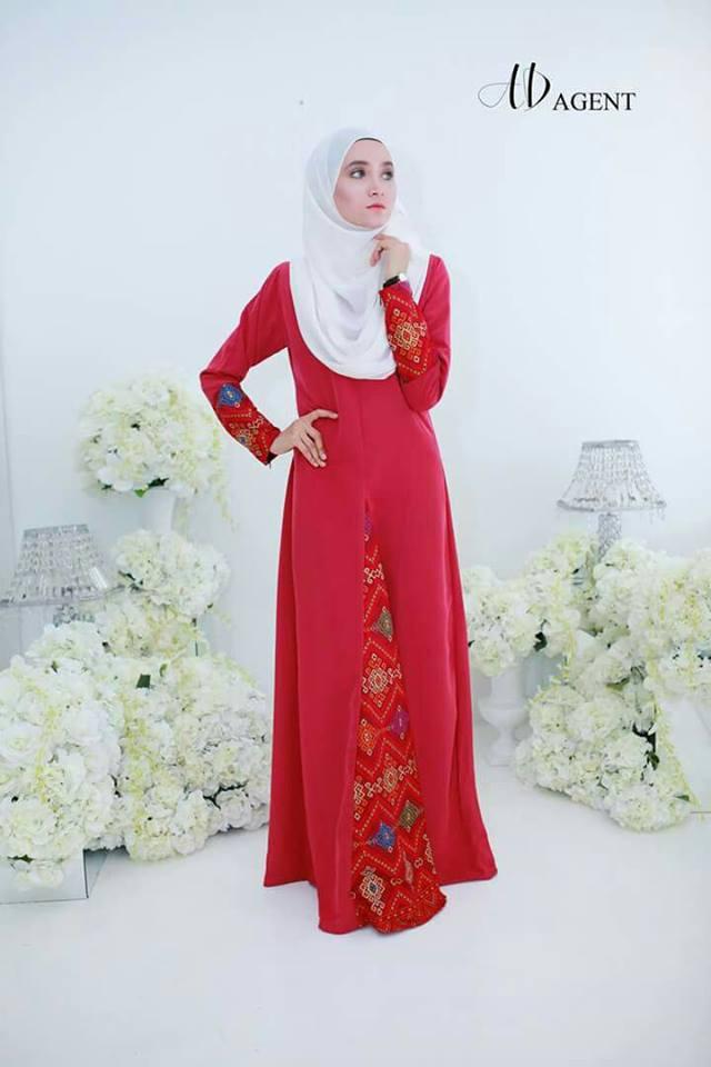 jubah-alayya-scarlet-red