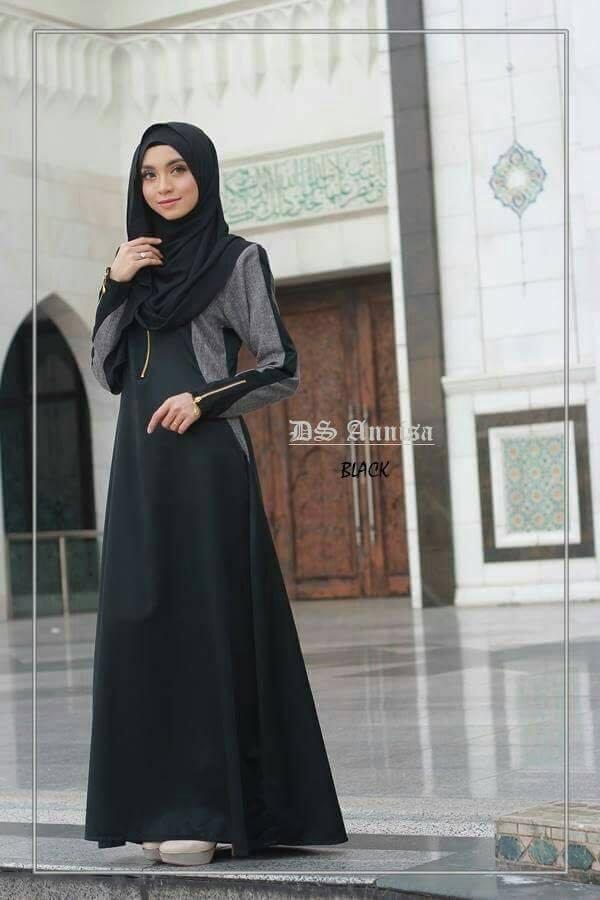 jubah-an-nisa-black