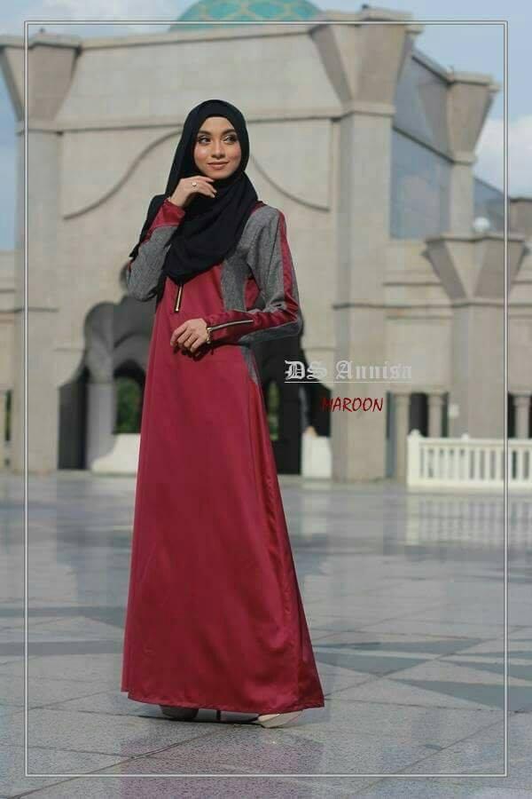 jubah-an-nisa-maroon