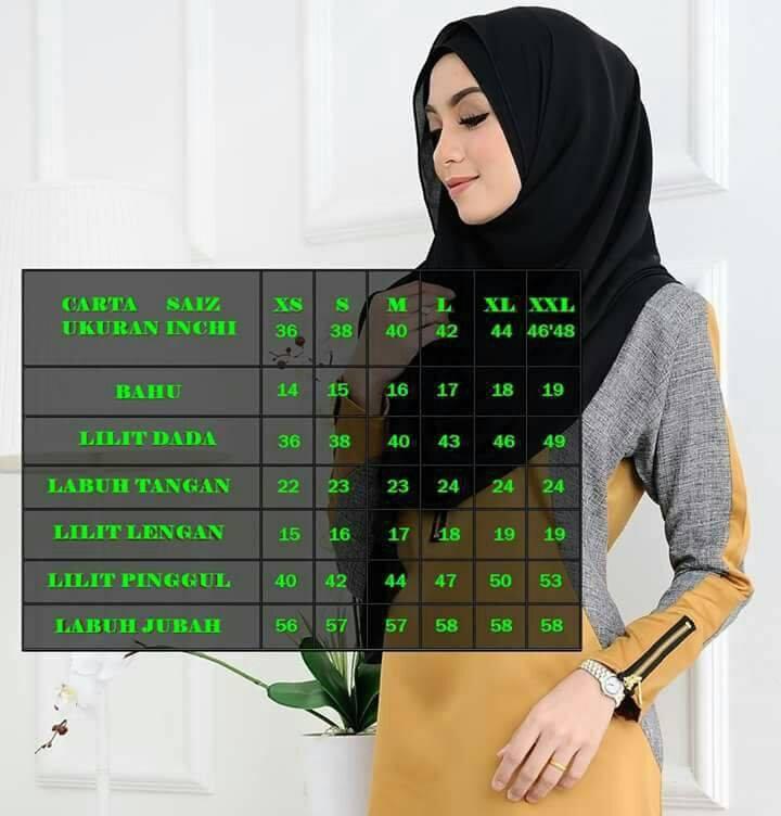 jubah-an-nisa-ukuran