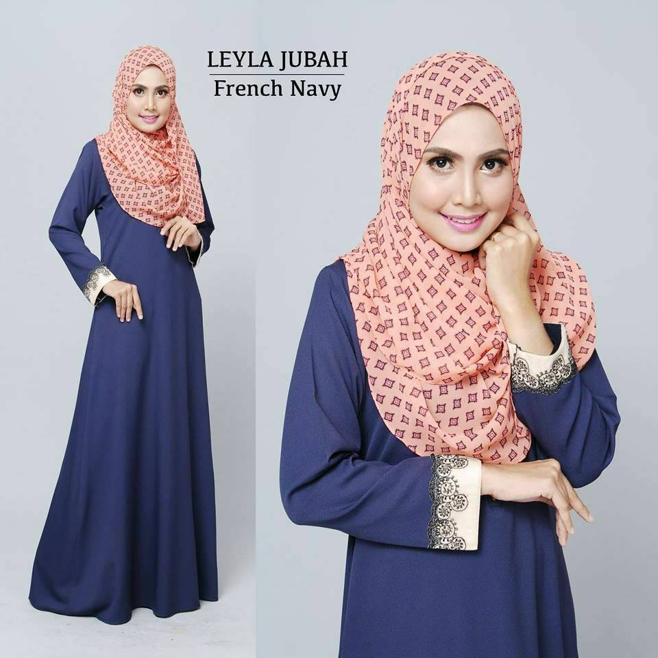 jubah-leyla-lacey-french-navy