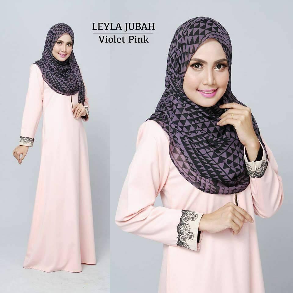 jubah-leyla-lacey-violet-pink