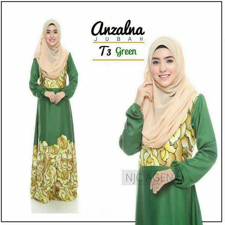 jubah-motif-anzalna-t3-green